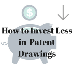 How to Invest Less in Patent Drawings