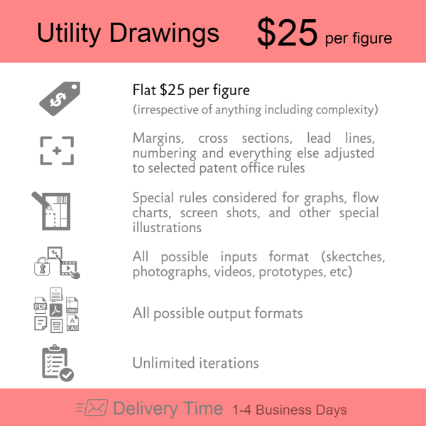 Order Now  Utility Patent Drawings
