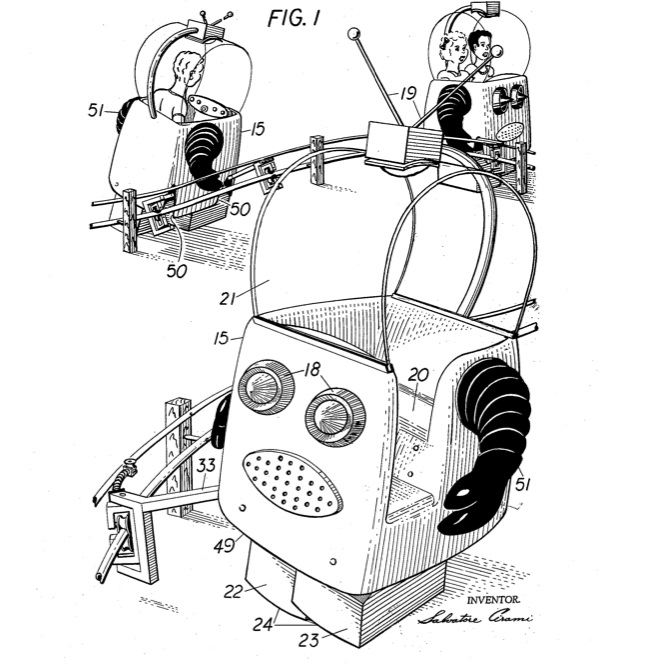 robot amusement ride