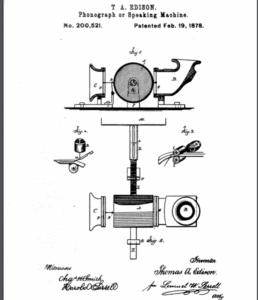 Edisons Phonograph
