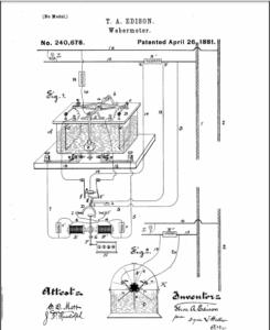 Edisons Webermeter