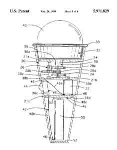 Motorized Ice Cream Cone