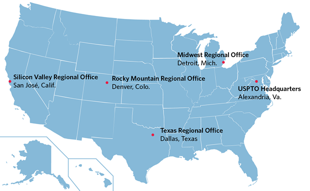 USPTO Locations