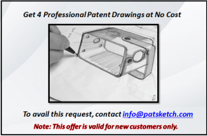 Professional Patent Drawing at No Cost